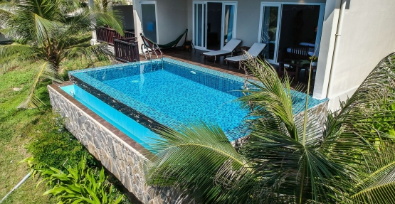 One bed-room with pool villa